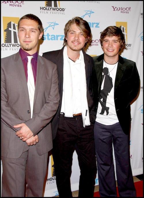Les frères Hanson en 2006