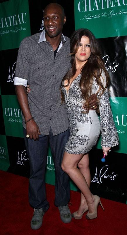 Khloé se la joue sensuelle au bras de Lamar !