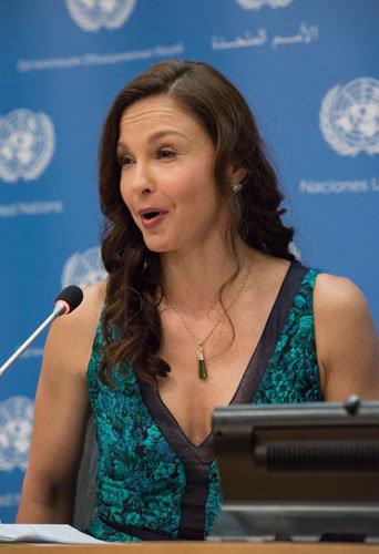 vPhotos : qui est Ashley Judd, la nouvelle ambassadrice de charme de l'ONU ?