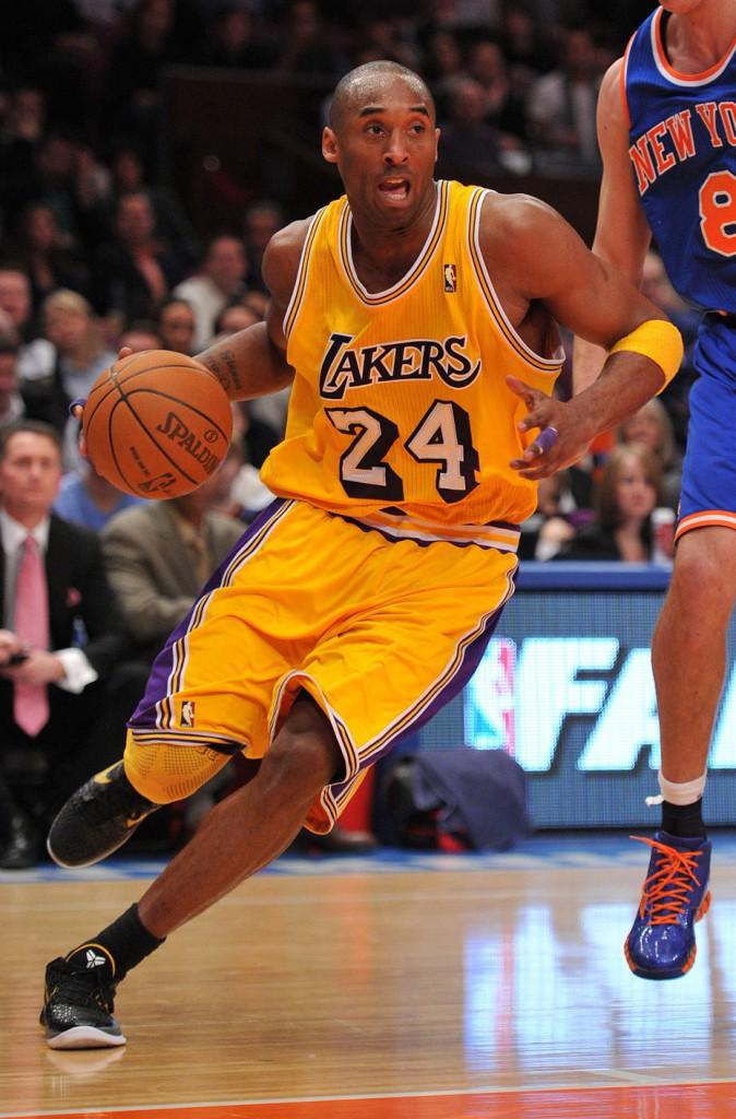 N°10 : Kobe Bryant – 49,5M$