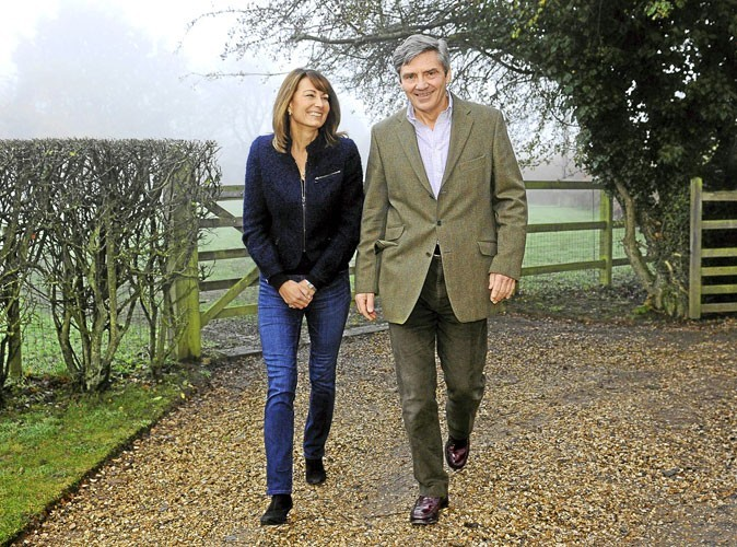 Les heureux parents de Kate Middleton