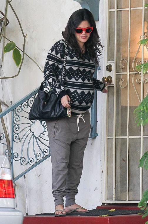 Rachel Bilson à Los Angeles le 10 octobre 2013