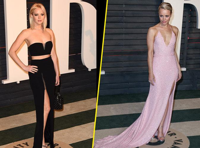 Jennifer Lawrence et Rachel McAdams : leurs jeux de jambes à la soirée Vanity Fair!
