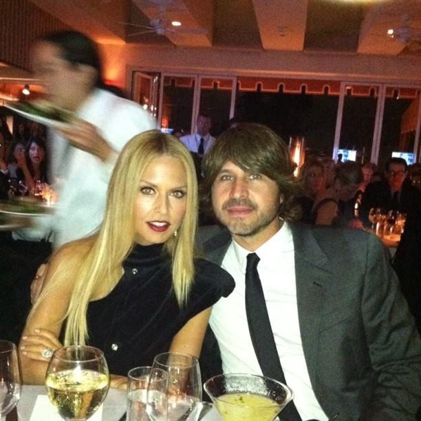 Rachel Zoe et son mari Rodger Berman lors de la soirée en son honneur au Centre Gay & Lesbien de L.A., le 23 janvier 2012.