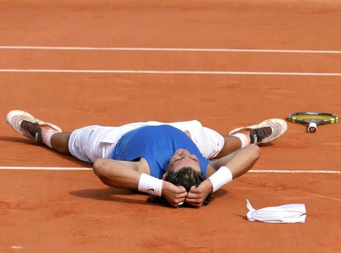 Nadal à Roland Garros en 2006