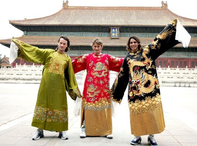 Nadal est à Shangaï avant les JO de Pékin en 2008