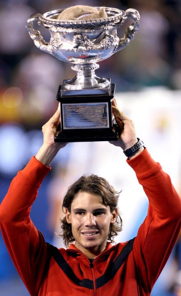 Rafael Nadal à l'Open d'Australie en 2009