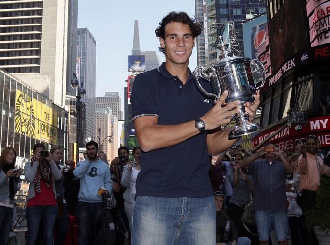 Rafael Nadal à l'US Open 2010 à NY