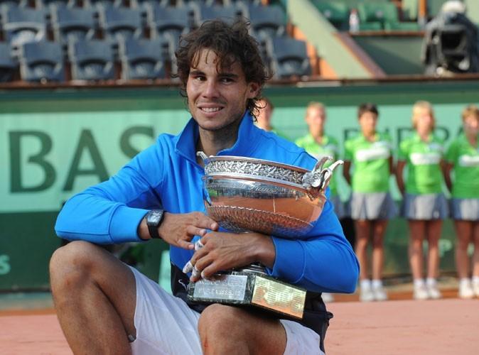 Rafael Nadal à Roland Garros en 2011