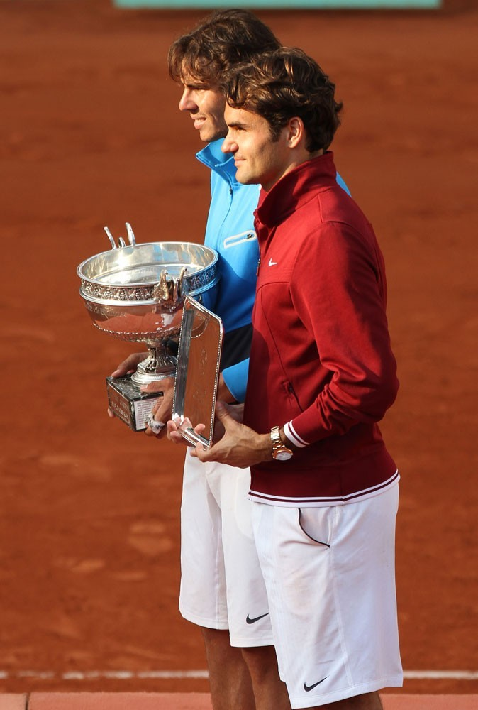 Rafael Nadal l'emporte sur Roger Federer à Roland Garros en 2011