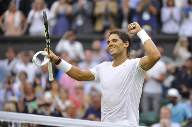 Rafael Nadal à Wimbledon le 28 juin 2014