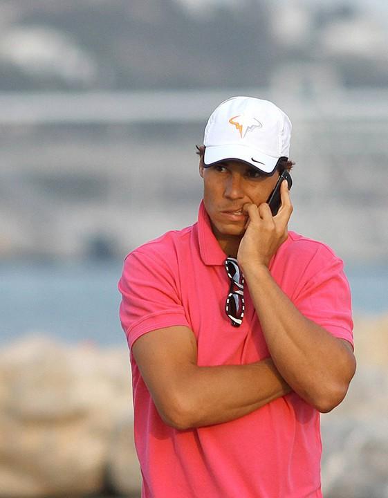 Rafael Nadal à Ibiza le 6 juillet 2014