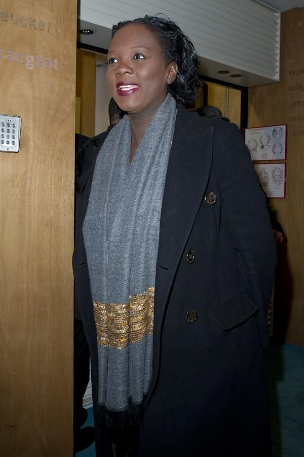 Rama Yade au Théâtre du Rond Point de Paris le 27 janvier 2013