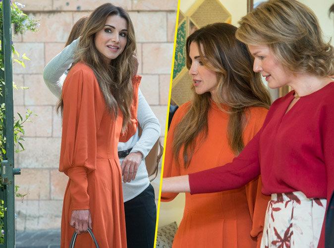 Rania de Jordanie et Mathilde de Belgique : quand une reine en re�oit une autre !