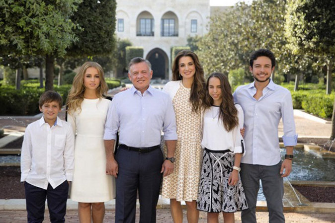 La famille roayle de Jordanie présente ses voeux