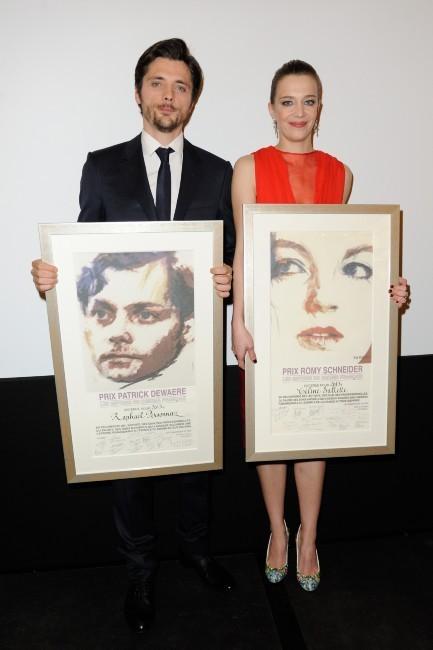 Raphaël Personnaz et Céline Sallette ont remporté le Prix Romy Schneider et Patrick Dewaere