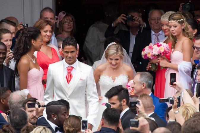 Photos : Raphaël Varane est un homme marié, découvrez tous les clichés de la cérémonie !