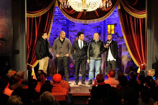 Première du film La Désintégration à Paris, le 8 février 2012.
