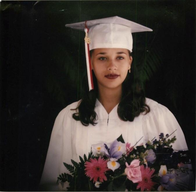 Rashida à 17 ans