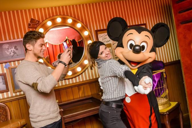 Photos : Rayane Bensetti et Denitsa Ikinomova : ils se retrouvent chez Mickey !