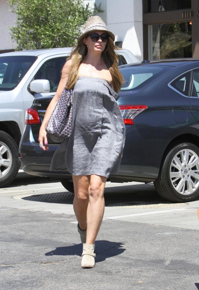 Rebecca Gayheart à Malibu, le 20 août 2013.