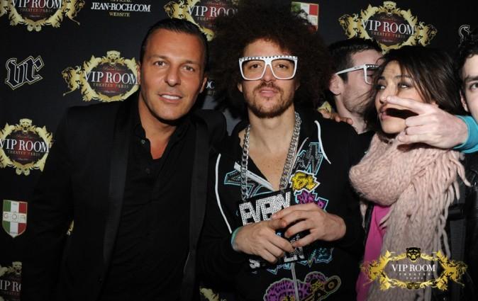 Jean-Roch et Red Foo au VIP Room Theater à Paris, le 29 février 2012.