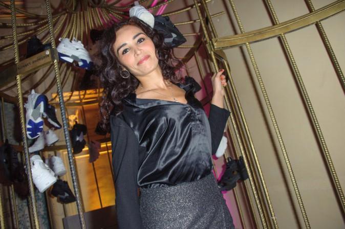Aïda Touihri à la soirée Reebok x Sandro organisée à Paris le 29 janvier 2015