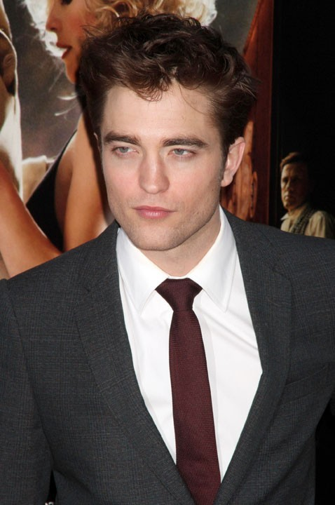 "Robert Pattinson lors de la première du film ""Water for Elephants"" à New York, le 17 avril 2011."