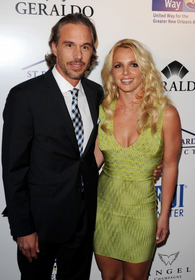 Photos : Britney Spears a craqué pour son manager