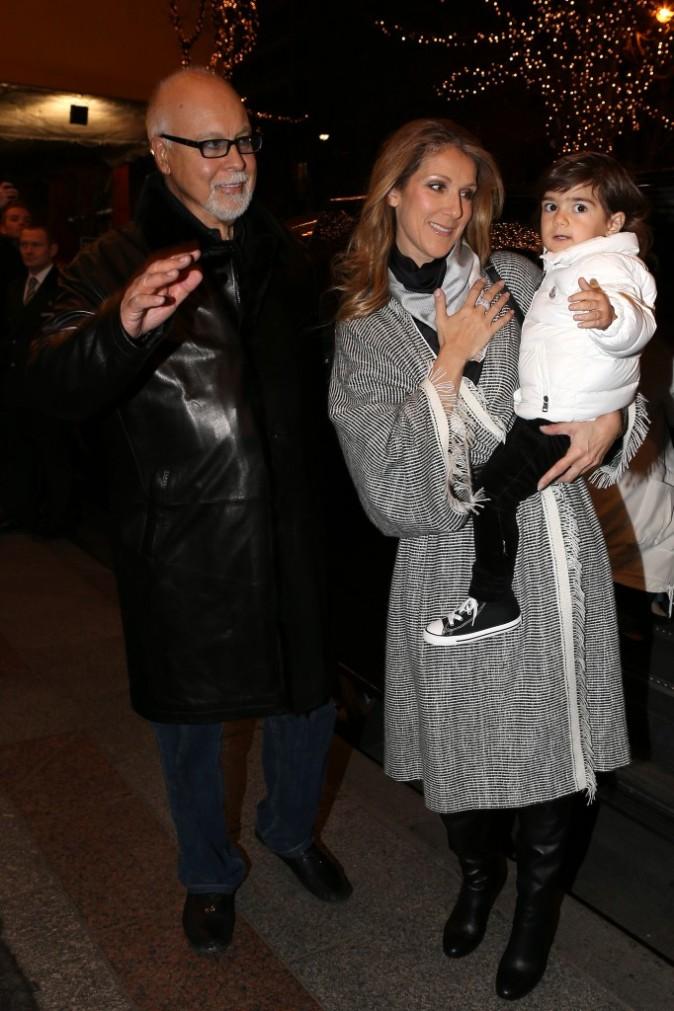 Photos : Céline Dion a épousé son manager René Angélil