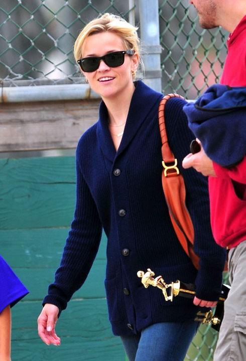 Reese Witherspoon, contente d'être en bons termes avec son ex !