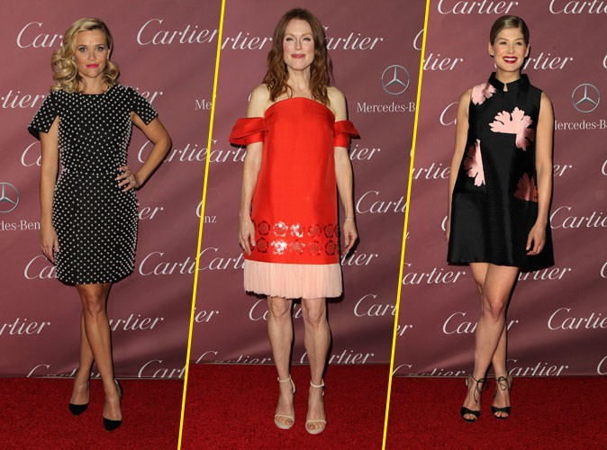 Photos : Reese Witherspoon, Julianne Moore, Rosamund Pike... trio de ladies au Palm Springs Festival !