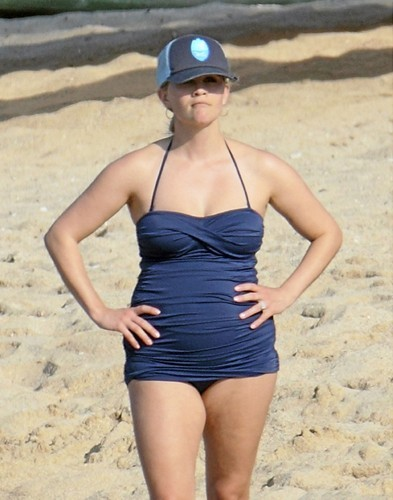 Reese Witherspoon, Hawaii, 2 janvier 2013.