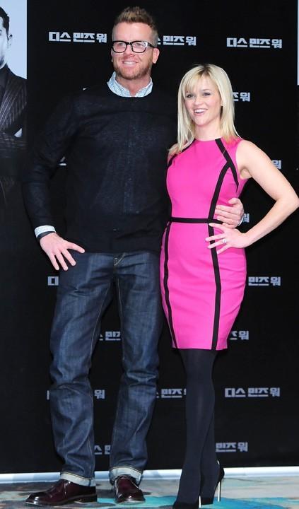 Avec le réalisateur du film, McG