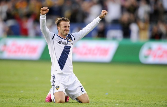 David Beckham au Los Angeles Galaxy