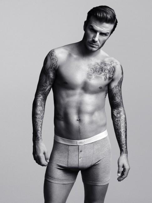 Pour bien finir ce flashback sur sa carrière, David, mannequin pour H&M !