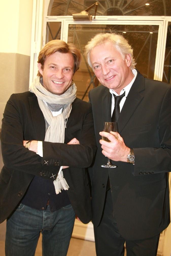 Laurent Delahousse en 2009 à l'atelier Guy Martin !