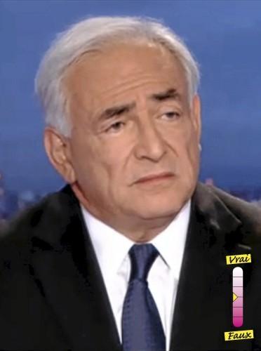 """Dominique Strauss-Kahn """"Anne Sinclair est une femme exceptionnelle, je n'aurais pas résisté à tout cela sans elle"""""""