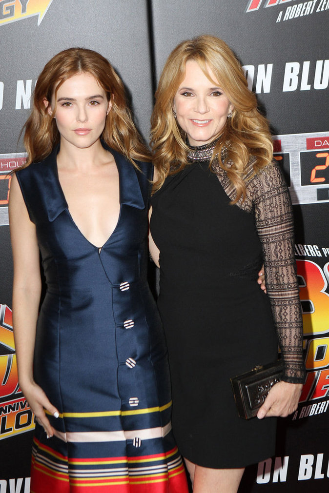 Lea Thompson et sa fille Zoe Deutch