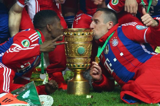 Franck Ribéry remporte la ligue des champions avec le Bayern de Munich, mai 2013