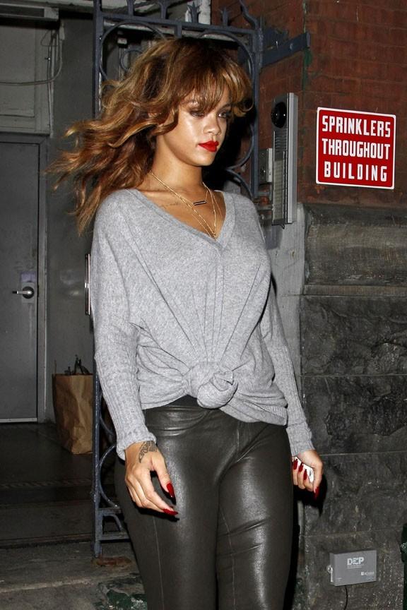 Rihanna photographiée hier à Manhattan !