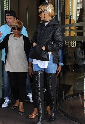 Rihanna à Londres le 15 juin 2013