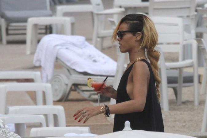 Rihanna à Monte-Carlo le 11 juillet 2013