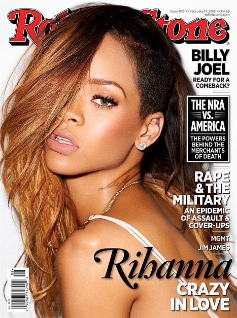 Rihanna en couverture de Rolling Stone !