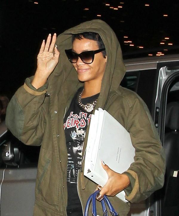 Rihanna de retour à Londres le 7 septembre 2012
