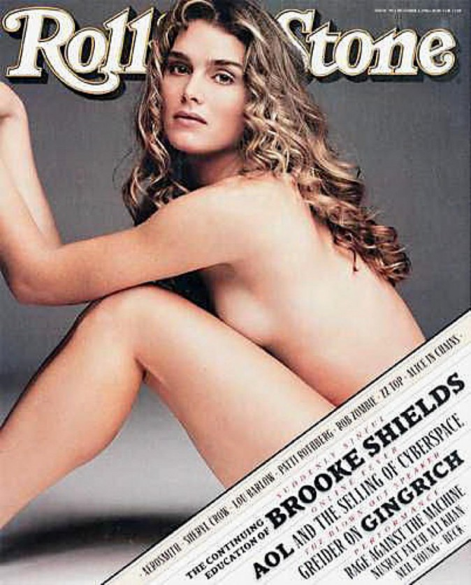 Brooke Shields pour Rolling Stone