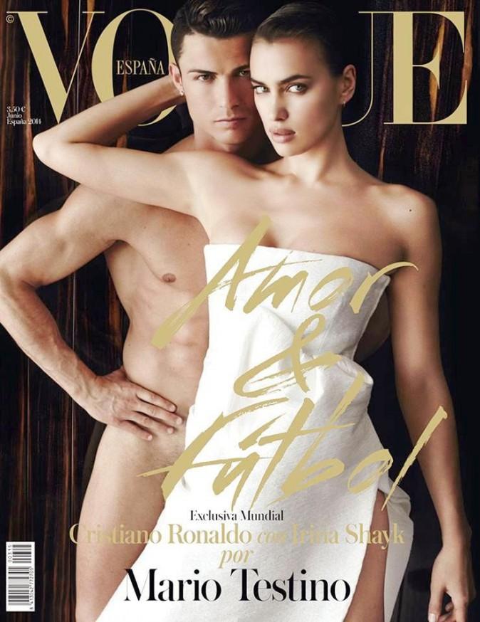 Cristiano Ronaldo et Irina Shayk pour Vogue juin 2014