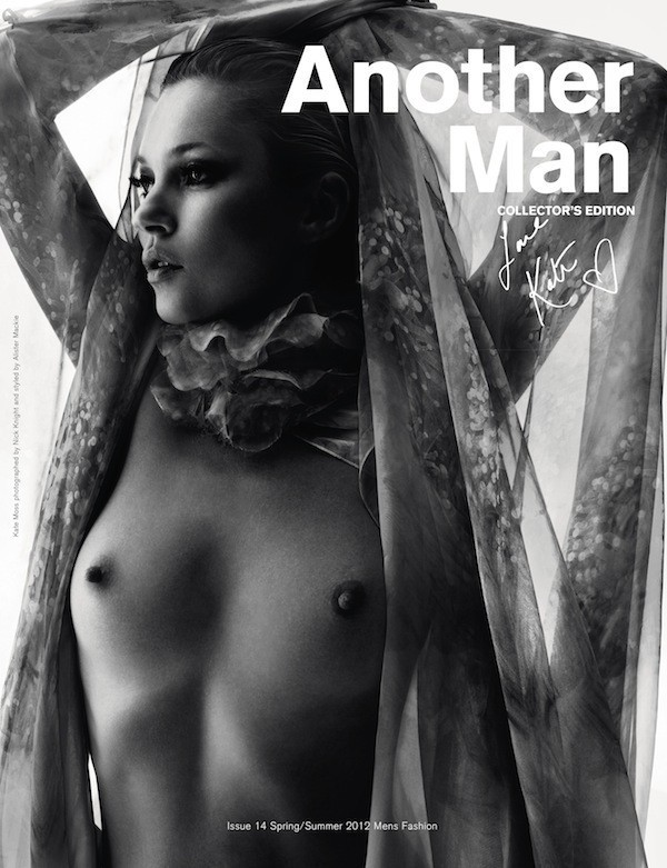 Kate Moss pour Another Man