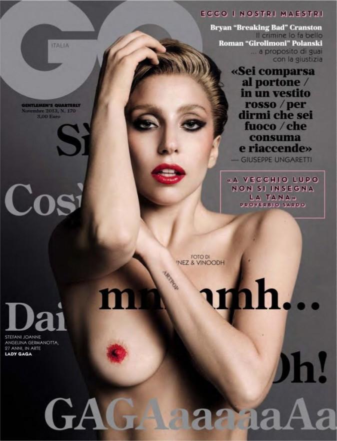 Lady Gaga pour GQ novembre 2013