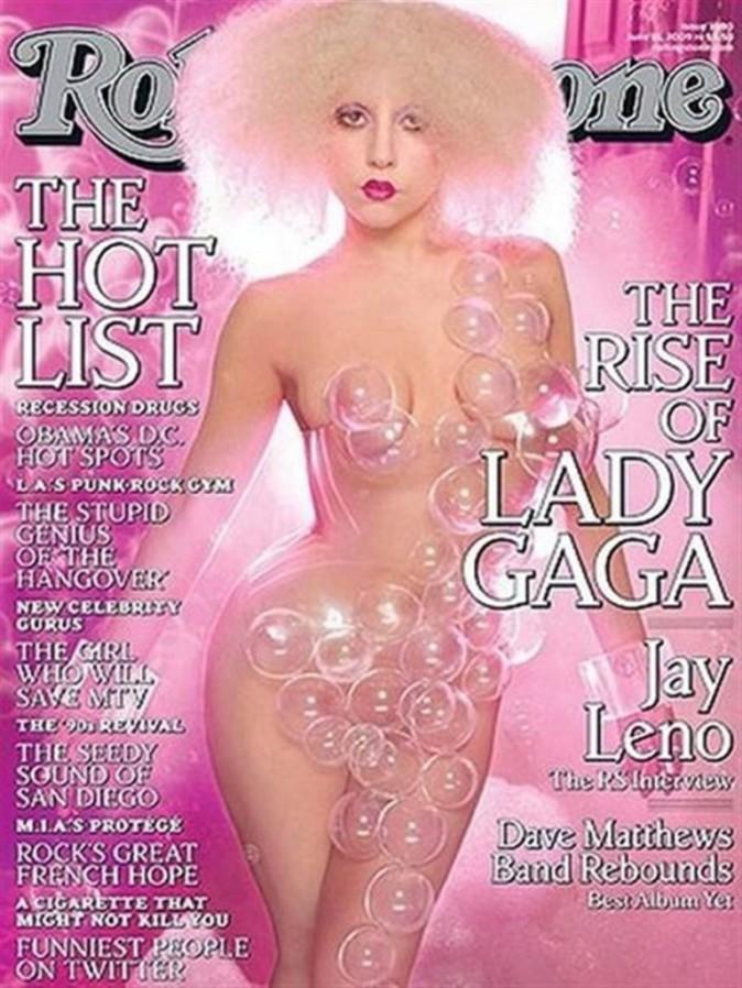 Lady Gaga pour Rolling Stone